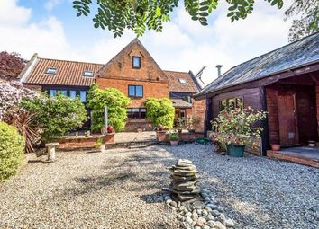 Thumbnail 7 bed link-detached house for sale in Horning, Norwich, Norfolk