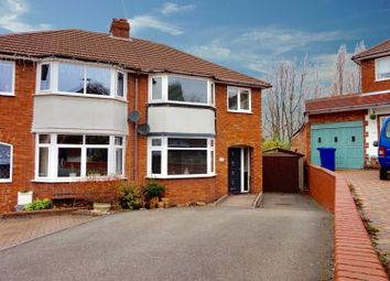 Thumbnail 3 bed semi-detached house for sale in Fairway, Tamworth