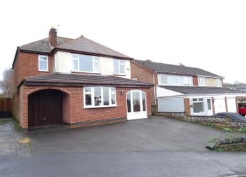 Thumbnail 4 bed detached house for sale in Cademan Street, Whitwick, Leicestershire