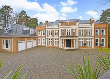 Thumbnail 6 bed detached house to rent in Camp End Road, St. Georges Hill, Weybridge