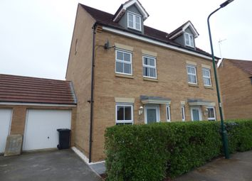 Thumbnail 3 bed semi-detached house to rent in Geddington Road, Peterborough