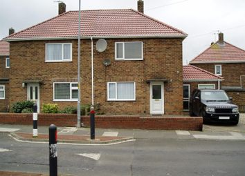 Thumbnail 2 bed semi-detached house for sale in Wood Lane, Bedlington