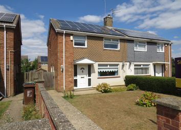 Thumbnail 3 bed semi-detached house for sale in Worthing Road, Corby