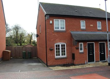 Thumbnail 3 bed semi-detached house to rent in Ridleys Close, Countesthorpe, Leicester