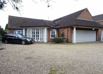 Thumbnail 3 bed detached bungalow for sale in Hinckley Road, Leicester Forest East, Leicester
