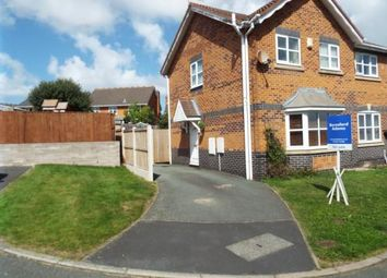 Thumbnail 3 bed semi-detached house for sale in Rhodfa Wenlo, Greenfield, Holywell, Flintshire