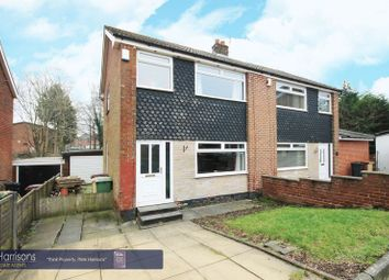 Thumbnail 3 bedroom semi-detached house for sale in Girvan Close, Morris Green, Bolton, Lancashire.