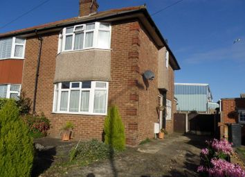 Thumbnail 3 bed semi-detached house to rent in Bush Avenue, Ramsgate