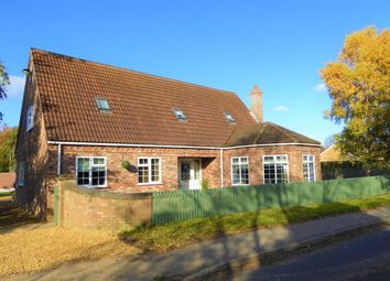 Thumbnail 4 bed detached house for sale in Main Road, Clenchwarton, King's Lynn
