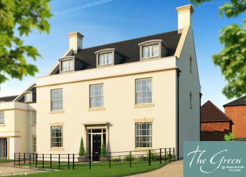 "Thumbnail 5 bed detached house for sale in ""The Walter @ The Green"" at Romsey Road, Winchester"