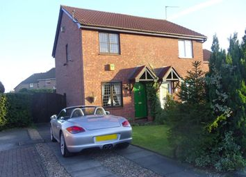 Thumbnail 2 bed semi-detached house to rent in Muirfield Close, Kirkby-In-Ashfield, Nottingham