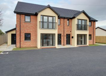 Thumbnail 2 bed flat for sale in Balloo Road, Bangor