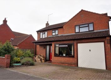 Thumbnail 4 bed detached house for sale in Headland Way, Haconby