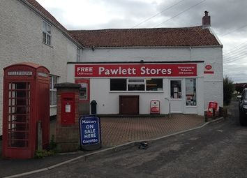 Thumbnail Retail premises for sale in 1 Gaunts Road, Pawlett, Bridgwater, Somerset