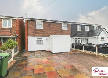 Thumbnail 3 bed semi-detached house for sale in Ecclestone Road, Wednesfield, Wolverhampton