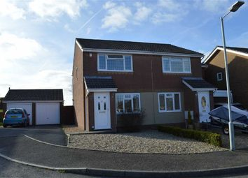 Thumbnail 2 bed semi-detached house for sale in Brynderwen, Swansea
