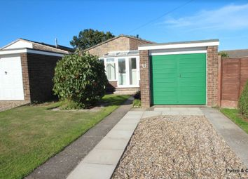 Thumbnail 2 bed detached bungalow for sale in St. Laurence Avenue, Brundall, Norwich