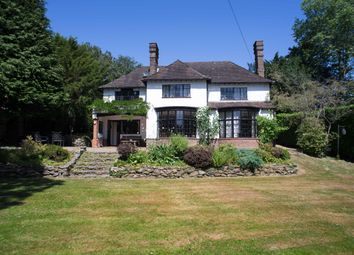 Thumbnail 4 bed detached house for sale in Wilderness Road, Oxted