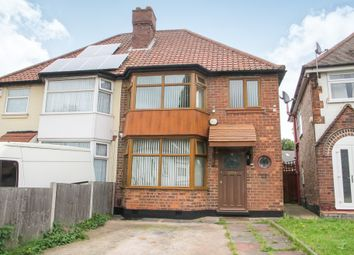 Thumbnail 3 bedroom semi-detached house for sale in Flaxley Road, Birmingham