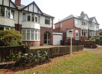 Thumbnail 3 bedroom semi-detached house for sale in Welford Road, Knighton Fields, Leicester