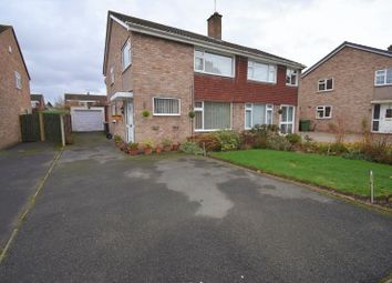 Thumbnail 3 bed semi-detached house for sale in 27 Chestnut Drive, Wellington, Telford