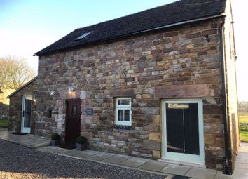 Thumbnail 2 bed barn conversion to rent in Winkhill, Leek