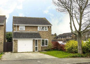 Thumbnail 3 bed detached house for sale in Favell Drive, Furzton, Milton Keynes, Buckinghamshire