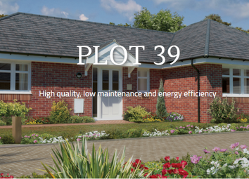 Thumbnail 1 bedroom semi-detached bungalow for sale in Plot 39, Ramley Road, Pennington, Lymington, Hampshire
