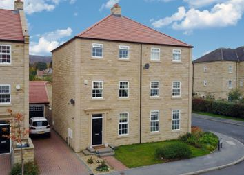 Thumbnail 4 bed semi-detached house for sale in Scalebor Gardens, Burley In Wharfedale