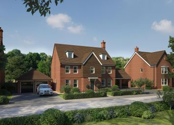 """Thumbnail 5 bedroom detached house for sale in """"Butterfly House"""" at Wedgwood Drive, Barlaston, Stoke-On-Trent"""