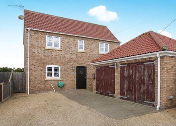 Thumbnail 4 bedroom detached house for sale in Flegg Green, Wereham, King's Lynn
