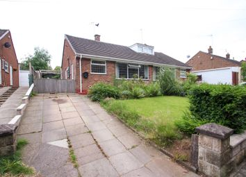 Thumbnail 2 bedroom semi-detached bungalow for sale in Danehill Grove, Hanford, Stoke-On-Trent