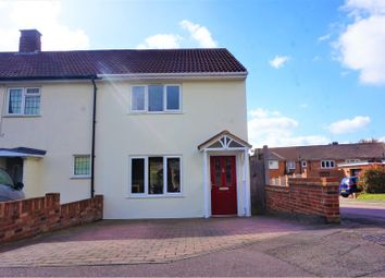 Thumbnail 3 bed semi-detached house for sale in Leycroft Close, Loughton