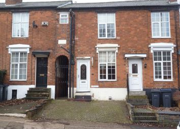 Thumbnail 2 bedroom terraced house to rent in Nursery Road, Edgbaston, Birmingham