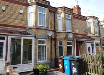 Thumbnail 2 bed terraced house for sale in Lynton Avenue, Perth Street West, Hull