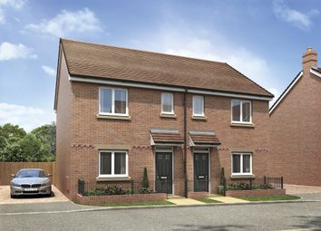 Thumbnail 3 bedroom semi-detached house for sale in Weogoran Park, Whittington Road, Worcester
