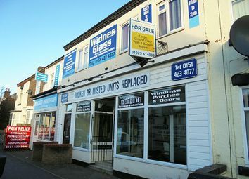 Thumbnail Retail premises for sale in Liverpool Road, Widnes