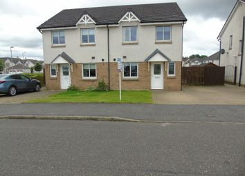 Thumbnail 3 bed semi-detached house for sale in Bathlin Crescent, Moodiesburn, Glasgow