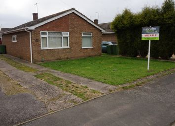 Thumbnail 3 bed bungalow for sale in Wakelyn Road, Whittlesey