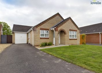 Thumbnail 3 bed bungalow for sale in Saddlers Way, Market Rasen