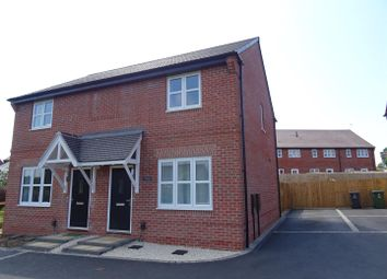 Thumbnail 2 bed semi-detached house for sale in Belfry Place, Shepshed, Leicestershire