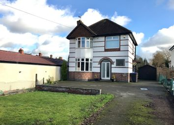 Thumbnail 3 bed detached house for sale in Kirkby Road, Barwell, Leicester