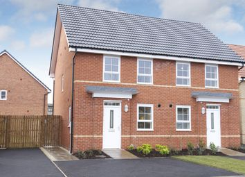 "Thumbnail 3 bedroom terraced house for sale in ""Bampton"" at Dulverton Avenue, Stenson Fields, Derby"