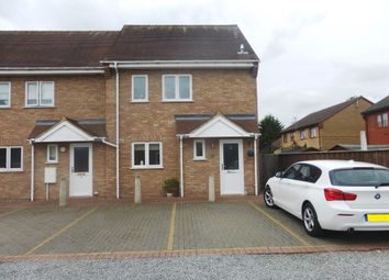 Thumbnail 3 bed end terrace house for sale in Coalville Close, March