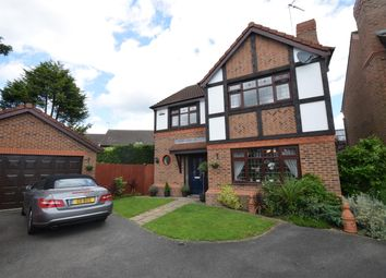 Thumbnail 4 bed detached house for sale in Lord Close, Narborough, Leicester