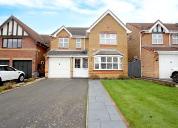Thumbnail 4 bed detached house for sale in Shortfield Close, Balsall Common, Coventry