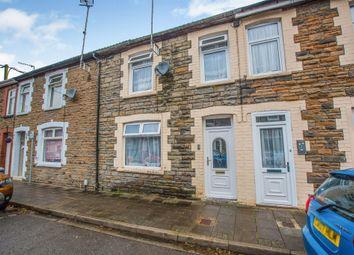 Thumbnail 4 bedroom terraced house for sale in Owen Street, Rhydyfelin, Pontypridd