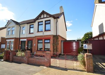 Thumbnail 4 bed semi-detached house for sale in Westbourne Road, Ipswich