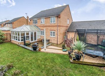 Thumbnail 4 bedroom detached house for sale in Walcot Close, Oundle, Peterborough