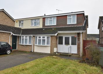 Thumbnail 4 bedroom semi-detached house for sale in Longacre, Chelmsford